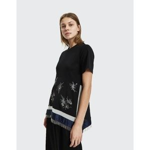 NEW 3.1 Phillip Lim Embellished Patchwork Top S
